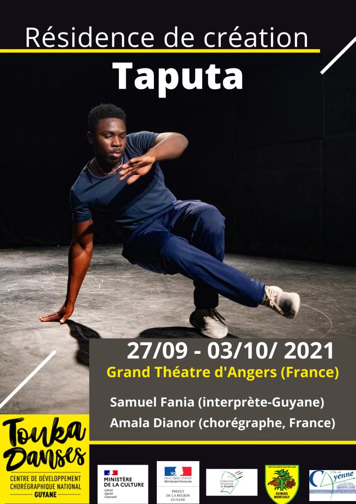Résidence de création Taputa sept. 2021